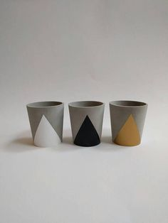 Concrete Cup Tealight Candle Holder  choice of colours