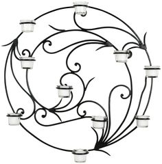 Safavieh Wrought Iron Tealight Wall Decor $85.99