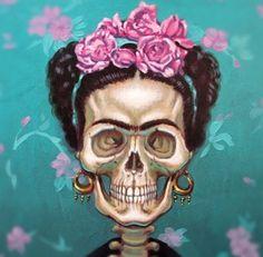 Dia De Los Muertos, Frida Kahlo