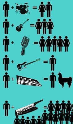 Every girl loves the #keytar #largeforfun