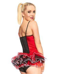 Harley Quinn Adult Corset