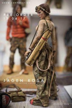 Diorama, Doll Repaint Tutorial, Post Apocalyptic Clothing, Military Action Figures, Post Apocalypse, Sci Fi Art, Plastic Models, Female, Gundam