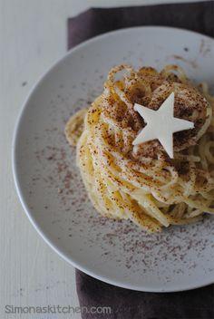 Cacio e Pepe al Cioccolato di Modica - 'Cacio & Pepe' is Cheese and Pepper with Modica Chocolate