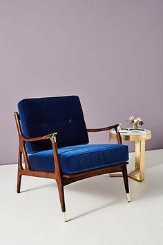 Velvet Haverhill Chair