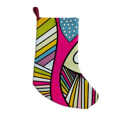 "Danny Ivan ""Fake Colors"" Christmas Stocking"