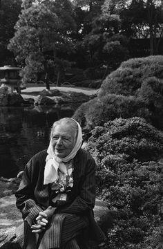 By Marc Riboud. Marguerite Yourcenar, Tokyo,1 9 8 2.