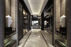WAN INTERIORS:: KING'S VISION SHOWFLAT by Tien Fun Interior Planning Co., Ltd. in Taichung, Taiwan