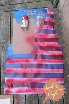 diy 4th of july shirts. I would use fabric paint and get the family matchy-matchy haha!