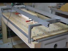 Multi Function Workbench & Router Planer โต๊ะทำงานไม้อเนกประสงค์+เครื่องปรับระนาบ - YouTube