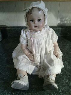 Natalie or 1945 Ideal Beautiful Baby or Miracle on 34th Street Doll. Rare!