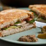 Roast Turkey, Avocado and Bacon Sandwich