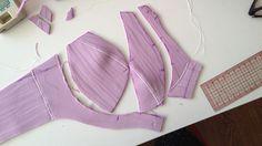 Making a sports bra