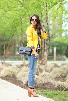 Look do dia: Boyfriend Jeans & Blazer