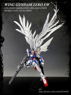 RG 1/144 Wing Gundam Zero EW - Customized Build