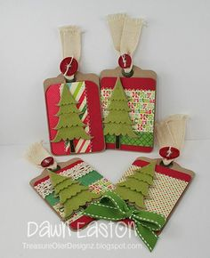 Gift Tags by TreasureOiler - Cards and Paper Crafts at Splitcoaststampers