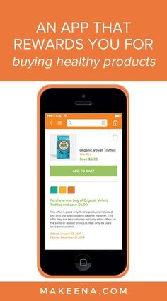 Makeena is a free, easy to use mobile #application that earns you #money when you purchase #healthy & #eco-friendly products at any retailer.