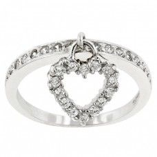 SIMPLE HEART CHARM RING-$36 The Simple Heart Charm Ring is truly stunning! This ring charm can be your sole reminder of that special someone in your life.