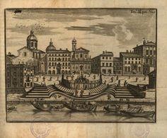 View of the porto di Ripetta, Lost Connection, Digital Technology, Vintage World Maps, Culture, Antiques, Painting, Arch, Porto, Dibujo