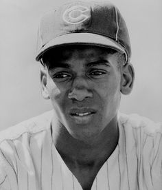 """Ernie Banks quote - """"It's a great day for a ballgame. Let's play two!"""""""