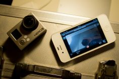 GoPro App is designed for iOS users to let them have full remote control of their GoPro cameras. http://en.softmonk.com/ios/gopro-app/
