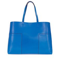 d0879d6a160a Tory Burch Block-T Leather Tote - Tory Navy  tory  navy  tote  block  burch   leather