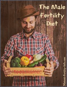 Wondering about a Fertility Diet for men? What a man eats during the preconception stage is just as important as what the woman is eating, especially if you are experiencing fertility issues.  #NaturalFertilty
