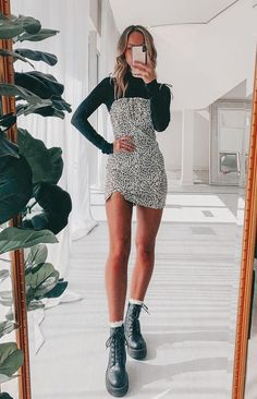 Trendy Fall Outfits, Teen Fashion Outfits, Edgy Outfits, Retro Outfits, Mode Outfits, Cute Casual Outfits, Look Fashion, Fall Dress Outfits, Winter Outfits