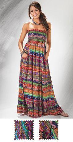 323c9e81fe22 Maxi Dress Freestyle Strapless Maxi, Dress Skirt, Cute Outfits, Plus Size,  Closet