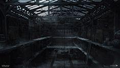 ArtStation - Thief - Warehouse, Mathieu Latour-Duhaime