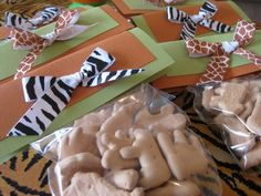 animal baby shower favors