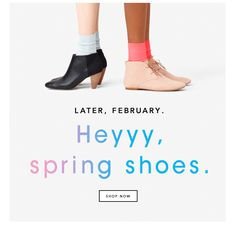 Springs Shoes Kate Spade Animated Email Design