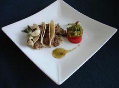 Tacos de Pavo con Ensalada de Nopal - Recetas Amas de Casa. USAPEEC México