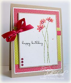 White space with patterns behind large block by sweetnsassystamps