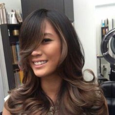 Smokey Tone Balayage Ombré - I'm not sure what all those words meant, all that matters is my hair dresser does!