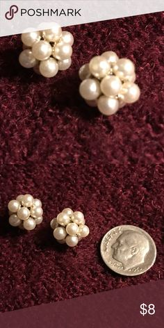 Beautiful Vintage Pearl Earrings! Have a great day and feed someone along the way! #agodthang Jewelry Earrings