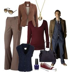 The 10th Doctor. Taking The Doctor's outfit and making it fit for a lady :)