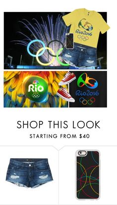 """""""Olympics 2016!"""" by jyellow-11 ❤ liked on Polyvore featuring 3x1, Casetify and Converse"""