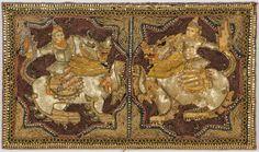 Burmese Kalaga Tufted Quilt