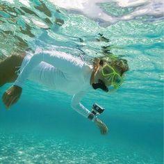 Scuba diving with #ActionCam