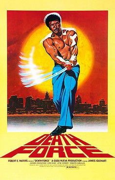 Death Force - 1978 - Movie Poster