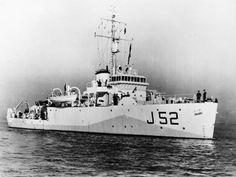 HMCS Guysborough (J 52) (Canadian Fleet minesweeper) - Ships hit by German U-boats during WWII - uboat.net