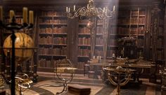 Beauty and the Beast 2017 belle's bedroom | beauty and the beast library [Image by Walt Disney Studios Motion ...