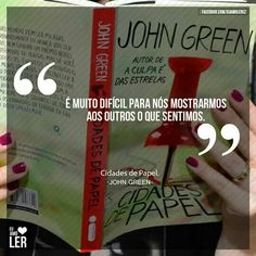 Cidades de Papel – John Green Some Quotes, New Quotes, Happy Quotes, Inspirational Quotes, John Green Paper Towns, Music Quotes Life, After Break Up, Life Thoughts, Feeling Sad