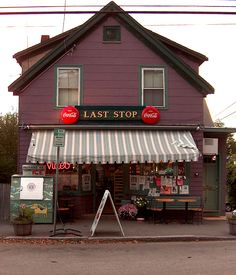 The Last Stop variety store in Gloucester Massachusetts