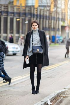 Hate Wearing Tights in the Winter? 35 Outfits That'll Change Your Mind   StyleCaster