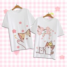 Kawaii neko t-shirt love it ❤