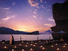Sunset Beach at Al Husn Hotel, Sultanate of Oman