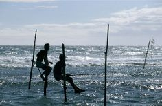 Pêcheurs du sud, Sri Lanka