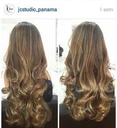 Ondas perfectas cabello largo