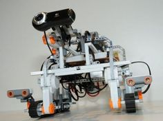 NASA + ESA have successfully tested interplanetary comms using a lego robot!